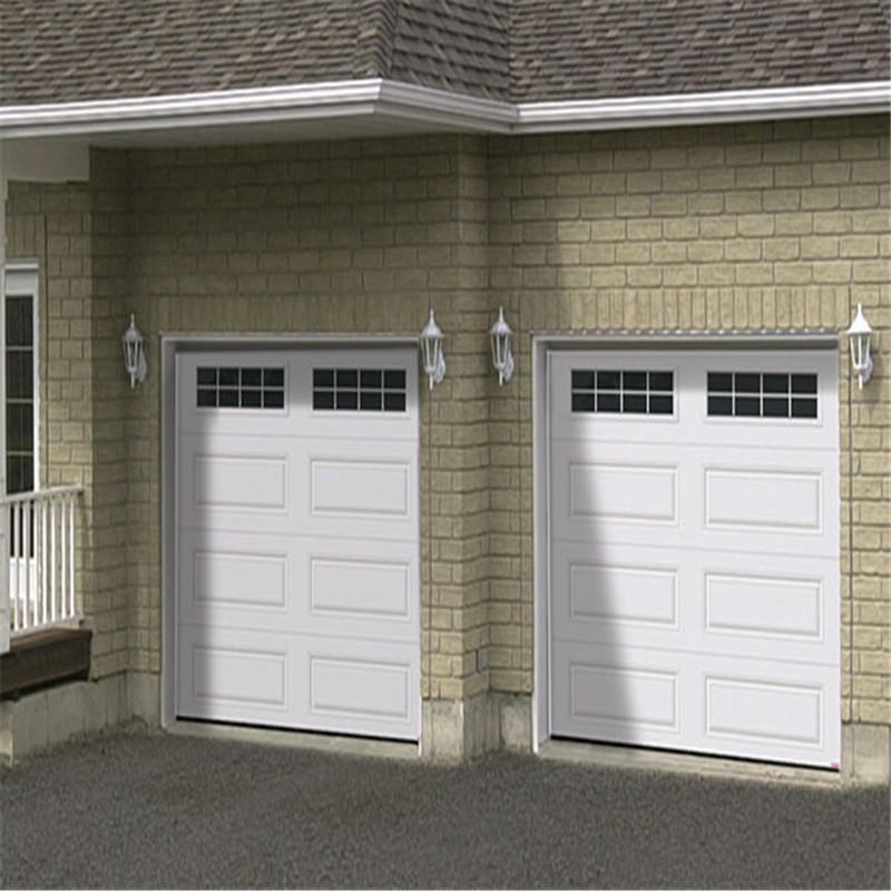 Overhead garage door 16'*7' automatic garage door with motor