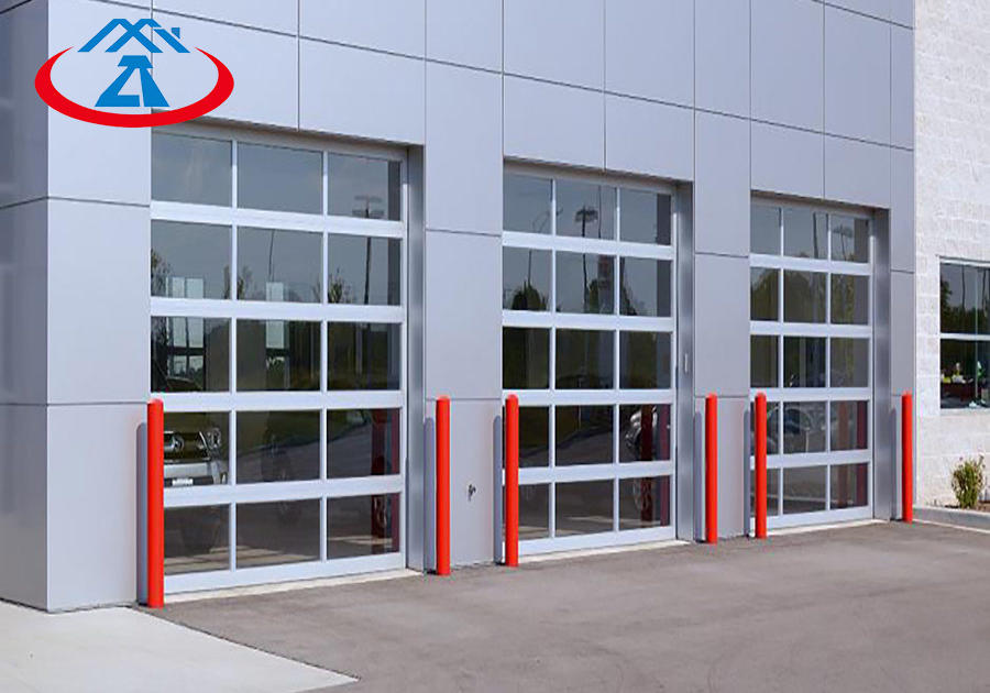 High quality standard customized automatic glass garage door