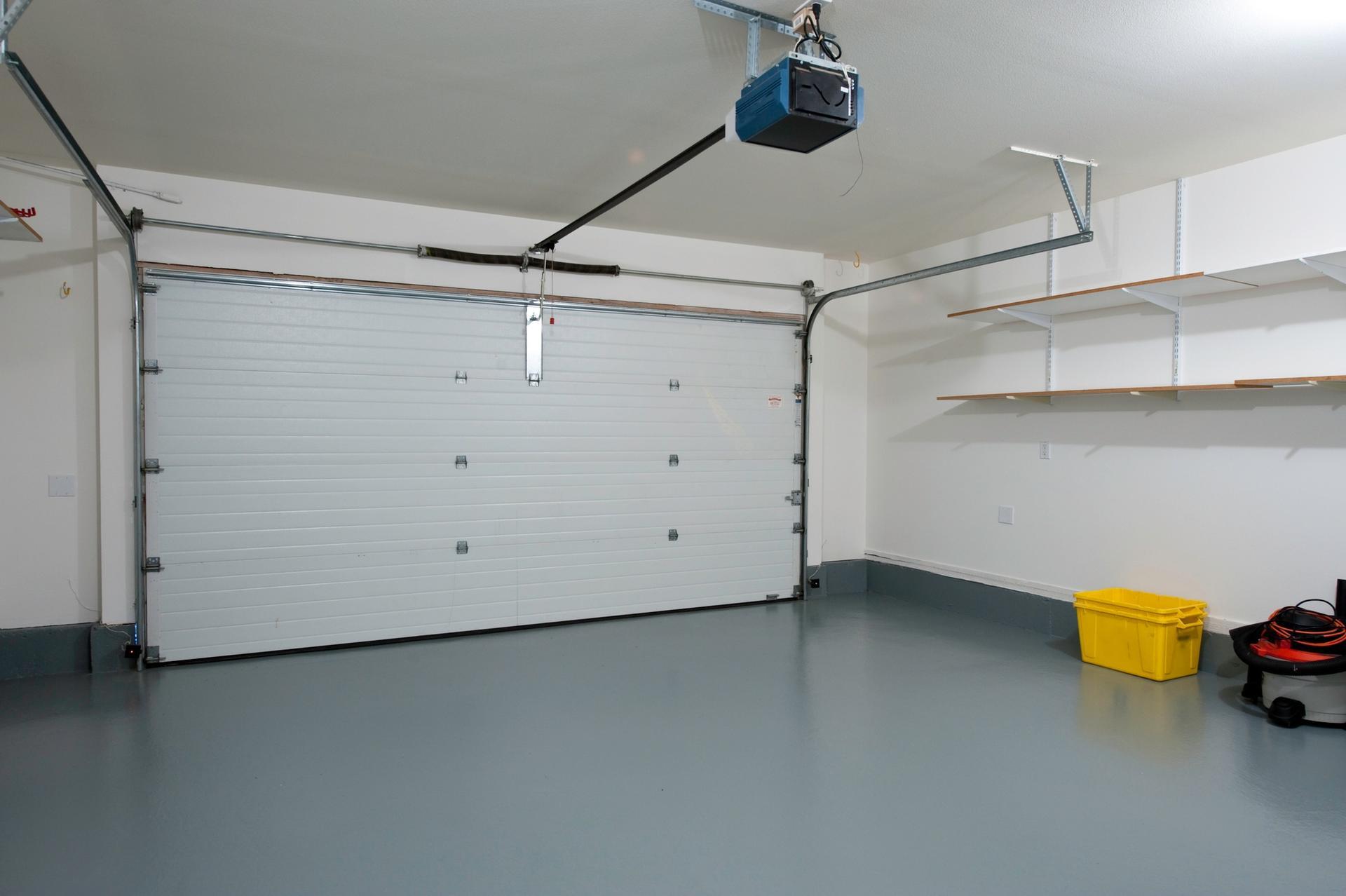 9x8 Used Overhead Color SteelAutomatic Garage Door Sales