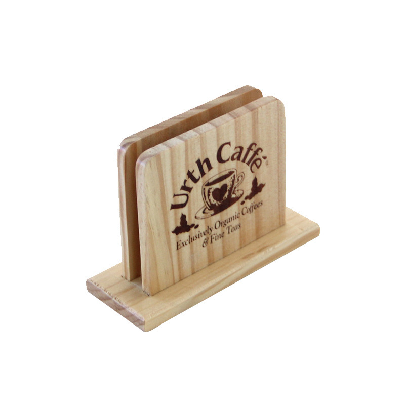 Simple useful style cheap slot Decorative Wooden Menu box