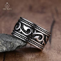 High-end custom 14mm stainless steel casting fashion men's ring wholesale RC-053