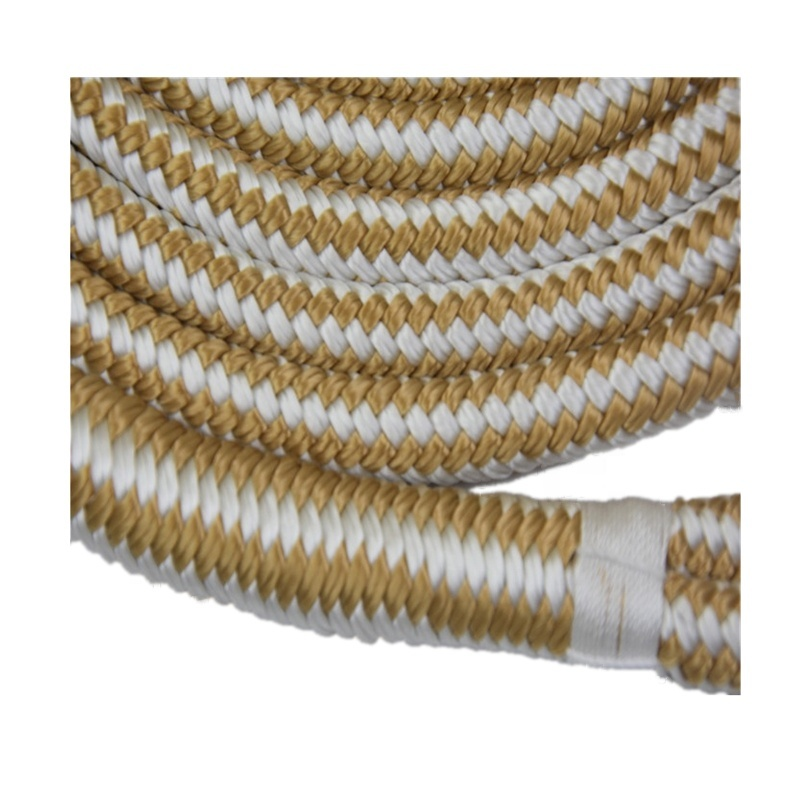High Quality W&G Marine Rope Nylon Polyester PP Double Braided Dock Line
