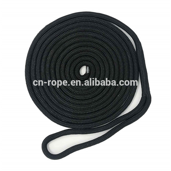 boat accessories Double Braid dock line polyester line 12 mm
