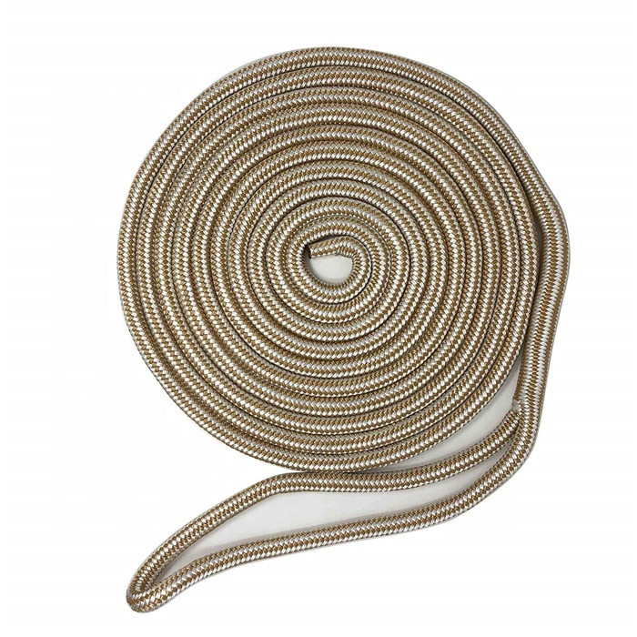 yacht rope clamshell packed Double Braid Nylon dock line