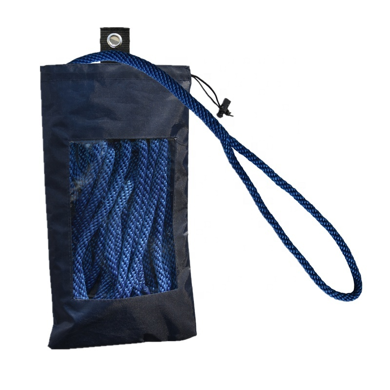 Abrasion Resistance Boat Accessories Marine Rope Dock Line with Spliced Eye