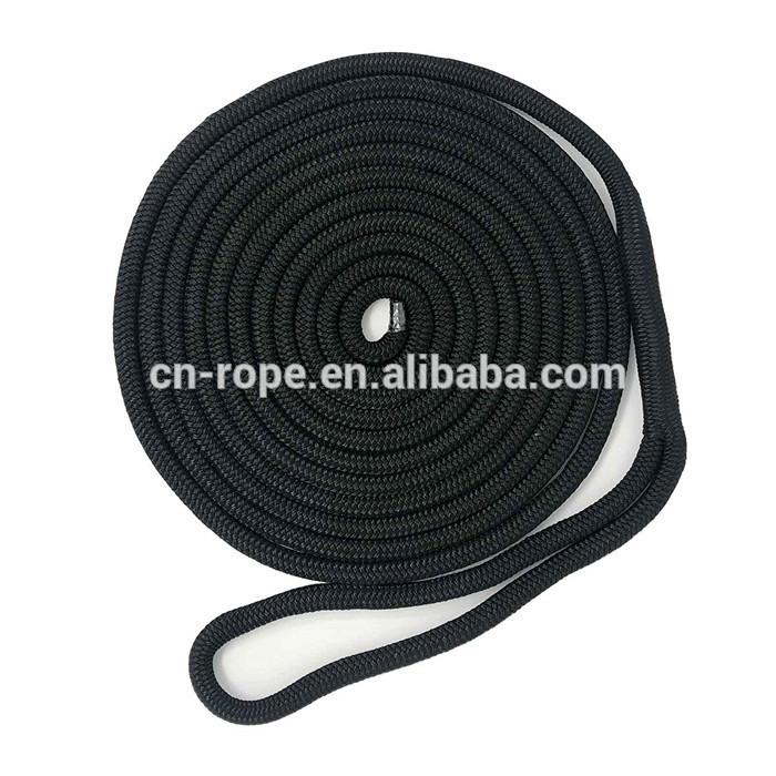 3/8 Inch 15 Ft Braided Nylon Rope nylon double braid dock line