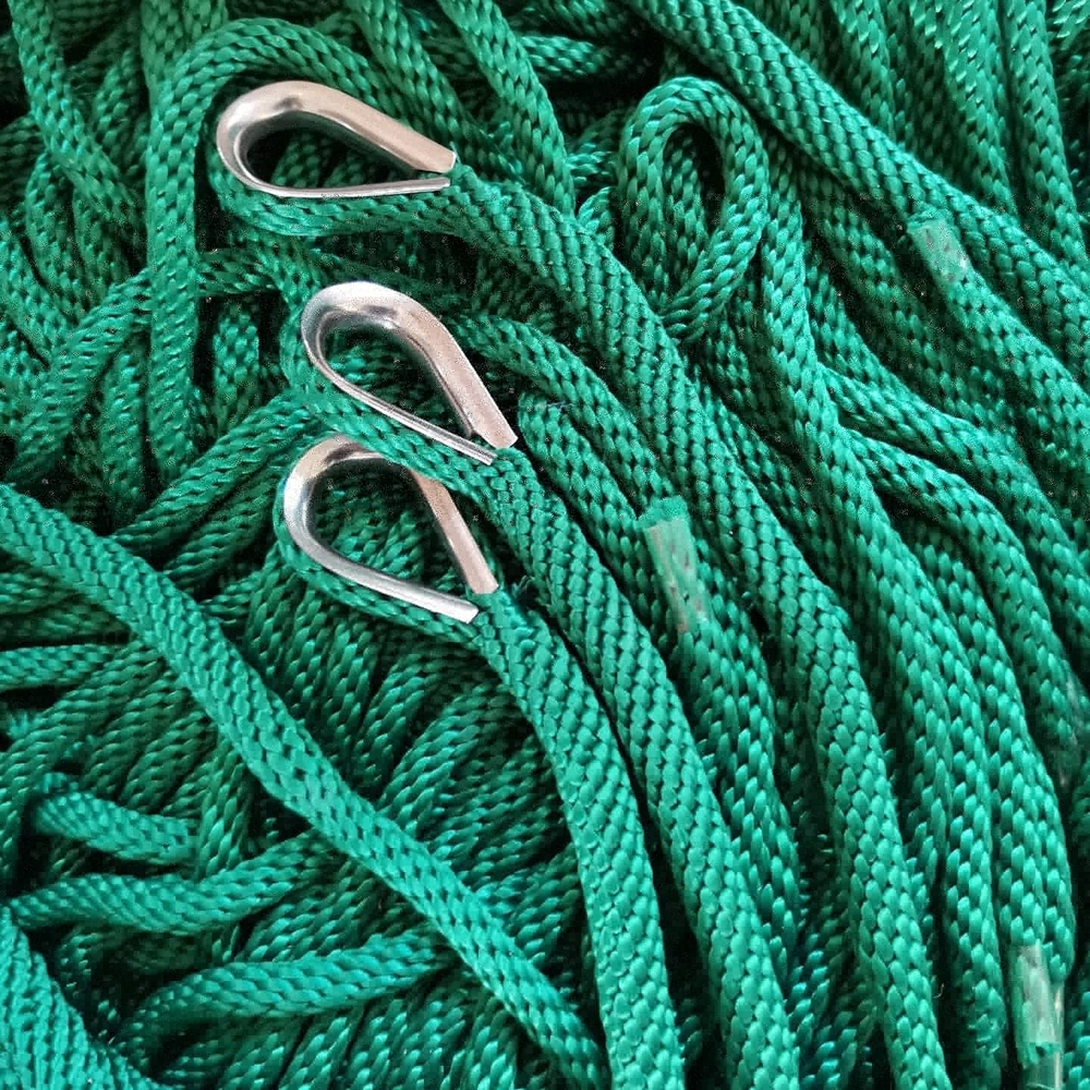 Top quality customized package double braided big diameternylon/ polyester mooring dock line marine ropefactory price