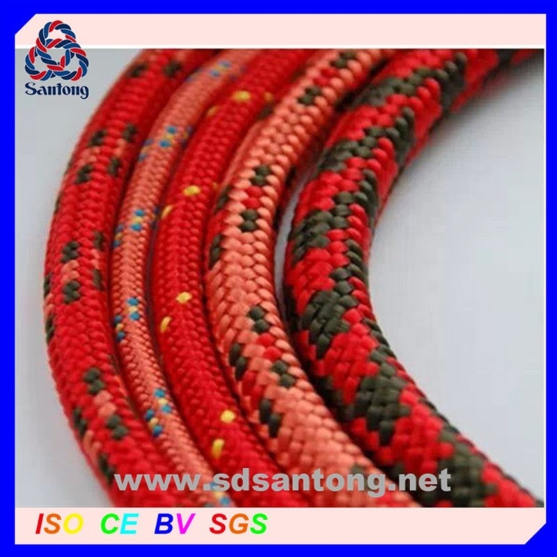 Performance double braided nylon polyester mooring dock linefactory price