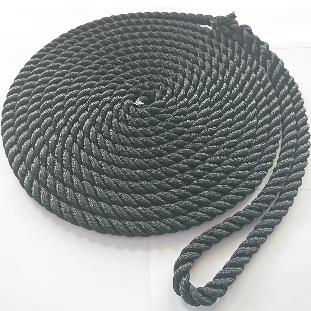 1/2''*35'' double braided nylon polyester mooring dock line