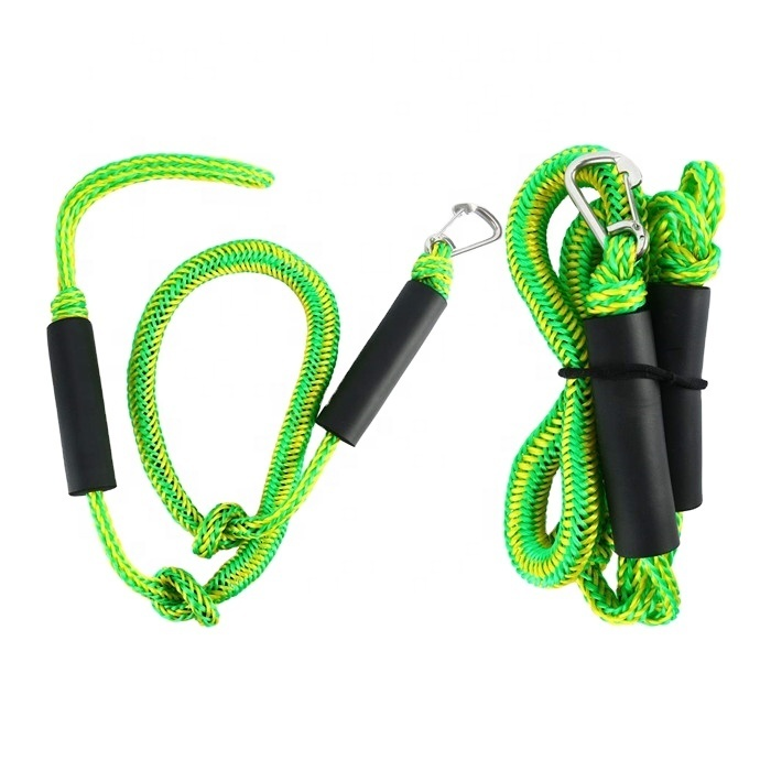 4ft 5ft 6ft bungee dock line PWC dock rope for boat