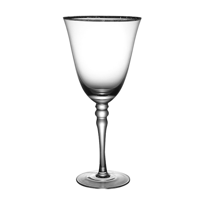 Wholesale Cheap High Quality Glass Drinking Water Cups Crystal Champagne Cup for Hotel Restaurant Wedding
