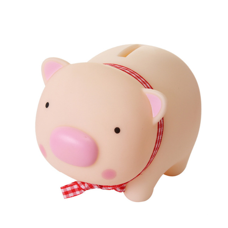 Promotional animal Shaped Plastic Bank Wholesale Coin Bank