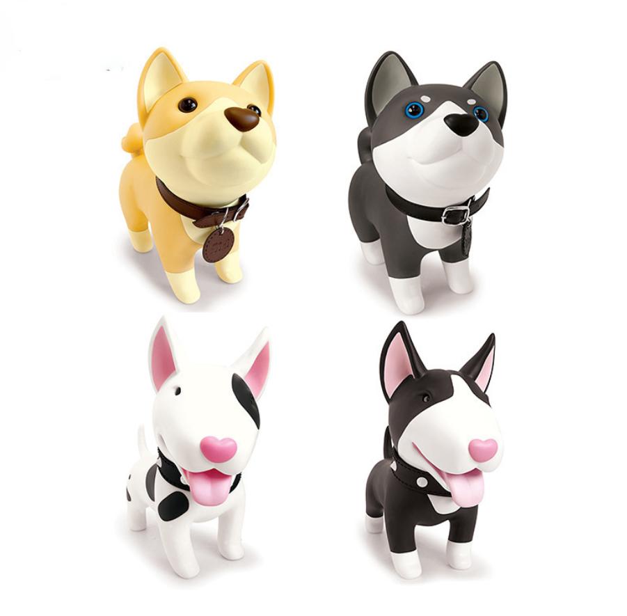 Promotional dog Shaped Plastic Piggy Bank Wholesale Piggy Coin Bank