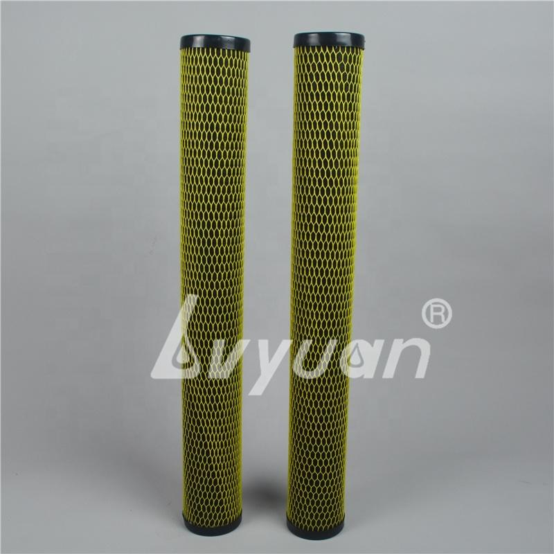 10 20 inch Slim Jumbo ACF Activated Carbon Fiber Cartridge for Water Purifier Filtration
