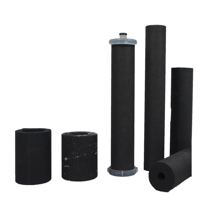 High quality water filter silver activated carbon 10 microns post filter activated carbon cartridge