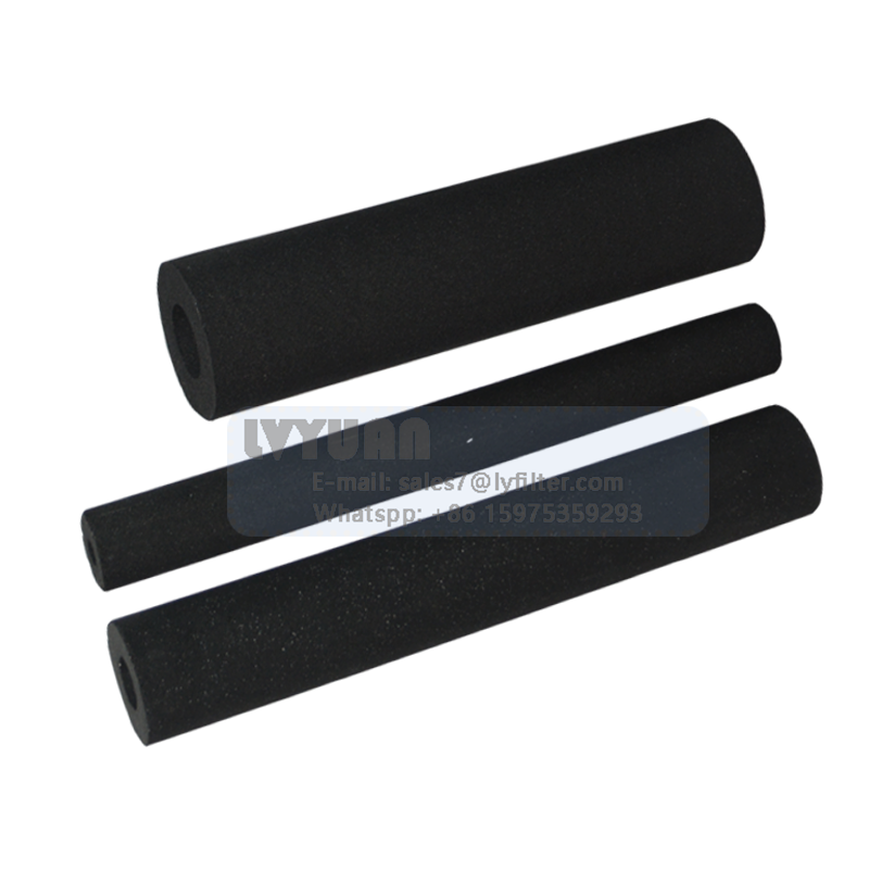 Post In-line active carbon charcoal activated carbon block water filter for home reverse osmosis water treatment filter