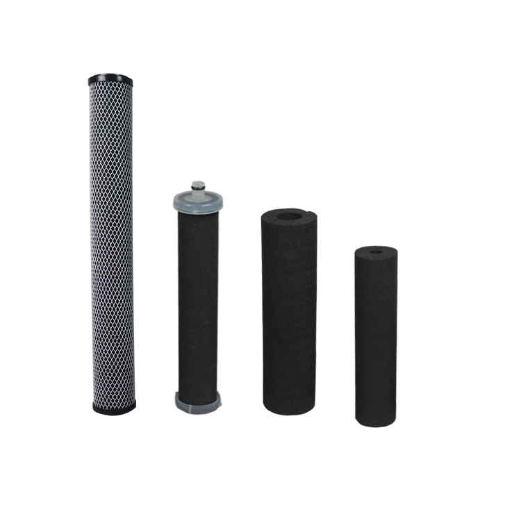 China supplier water bottle replacement carbon filter for standard/unconventional