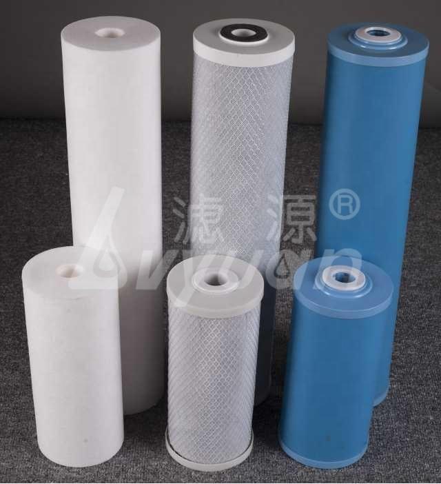 Factory 10 20'' inch Big Blue Water filter cartridge for PP/GAC/CTO Carbon jumbo cartridges