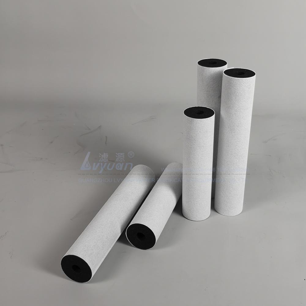 Activated carbon series OEM design Sintered carbon block filter for fridge filter spare parts