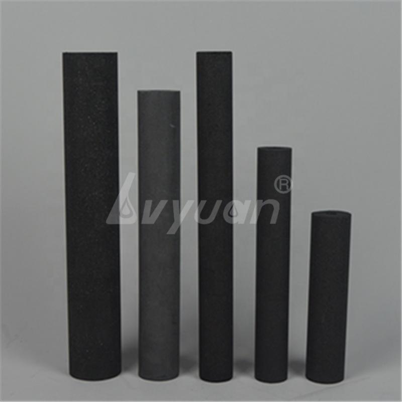 Guangzhou Factory Price Adsorption Activated Carbon Block Water Filter Tube with OEM size