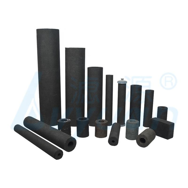 sintered carbon block water filter/sintered activated carbon filter for industrial liquid filtration