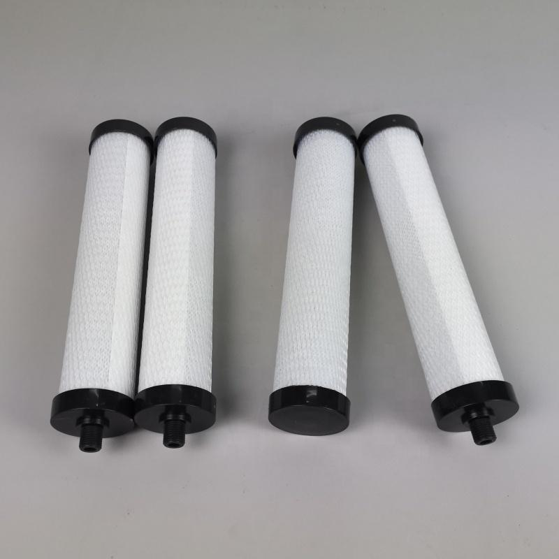 Custom thread connector 8 9 10 inch CTO ac activated carbon block water filter cartridge for home filters China factory