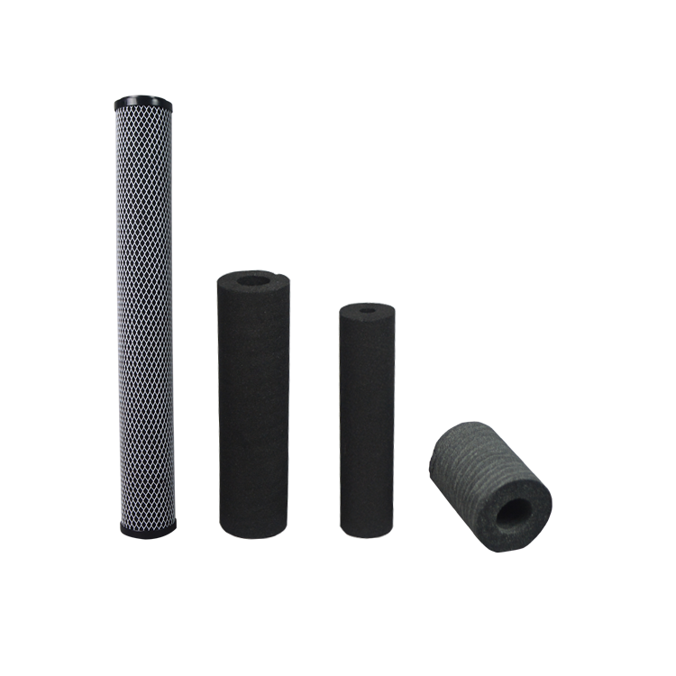 Customized size carbon filter cartridge stainless steel for water filters machine
