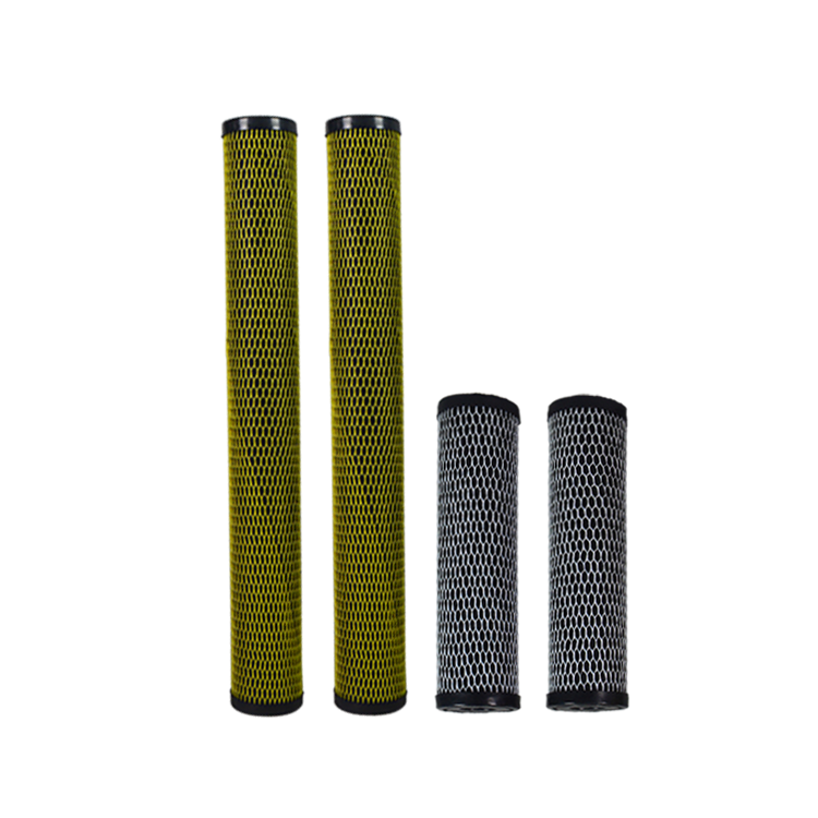 High quality cheap filters active carbon block filter cartridge