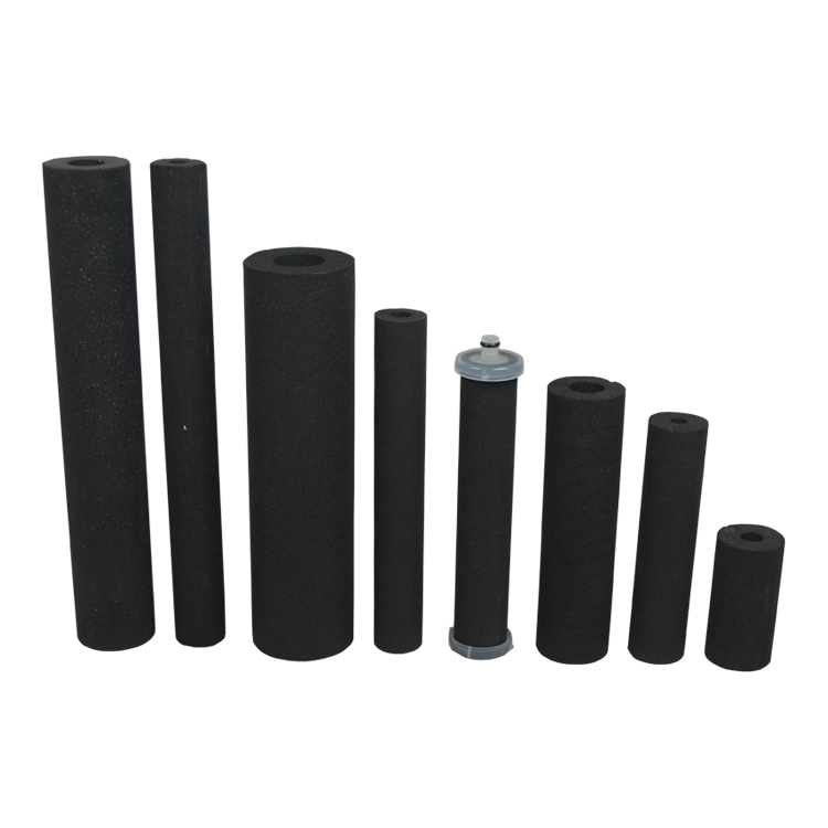 Removal dust carbon fiber filter for home water filter replacement