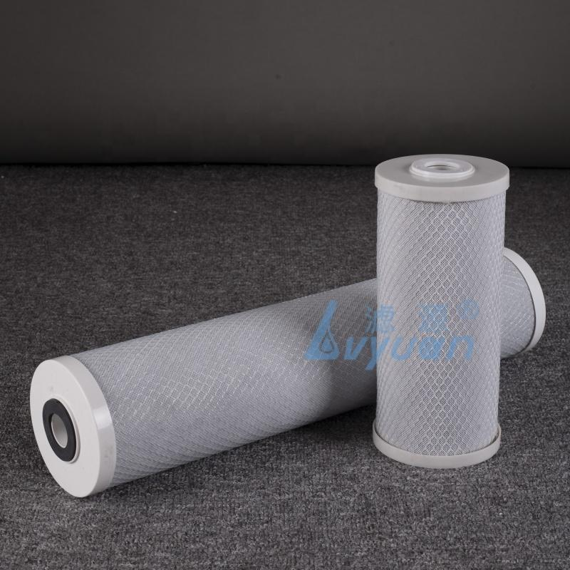 Factory 10 20'' inch Big Blue Water filter cartridge for PP/GAC/CTO Carbon jumbo cartridges