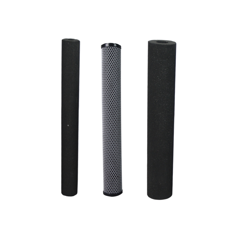 China supplier activated carbon filter spare parts