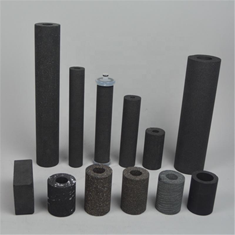 OEM compressed Active Carbon Cylinder Filter Tube Cartridge for Chlorine removal