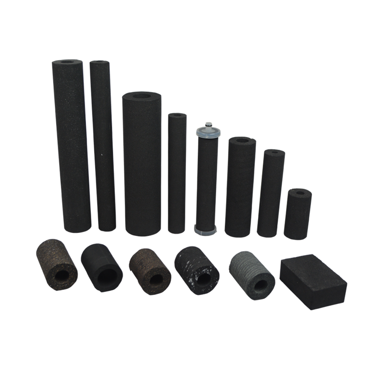 Hot Sale activated carbon filter element for Drinking Water Chlorine Removal