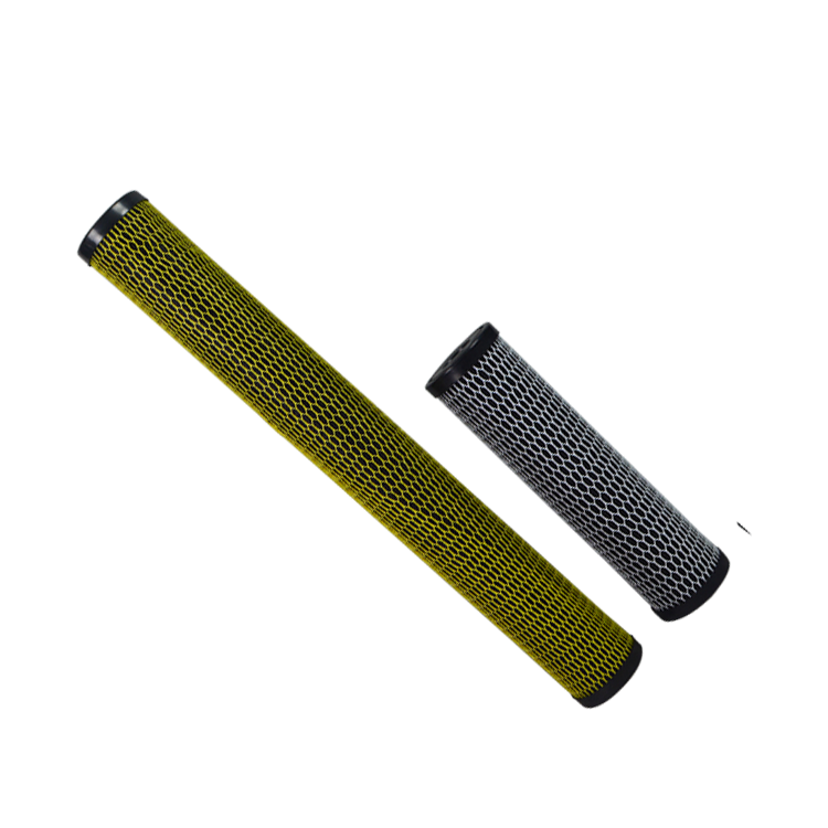 Customized special designs sintering CTO carbon water filter cartridge for home pre filtration filter
