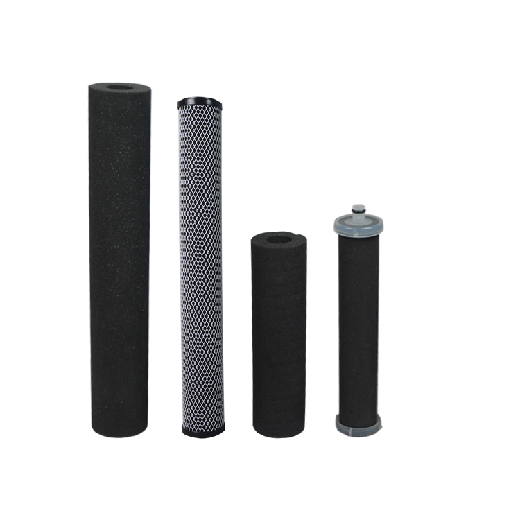 Premium cto activated carbon water filter cartridge for condensate water