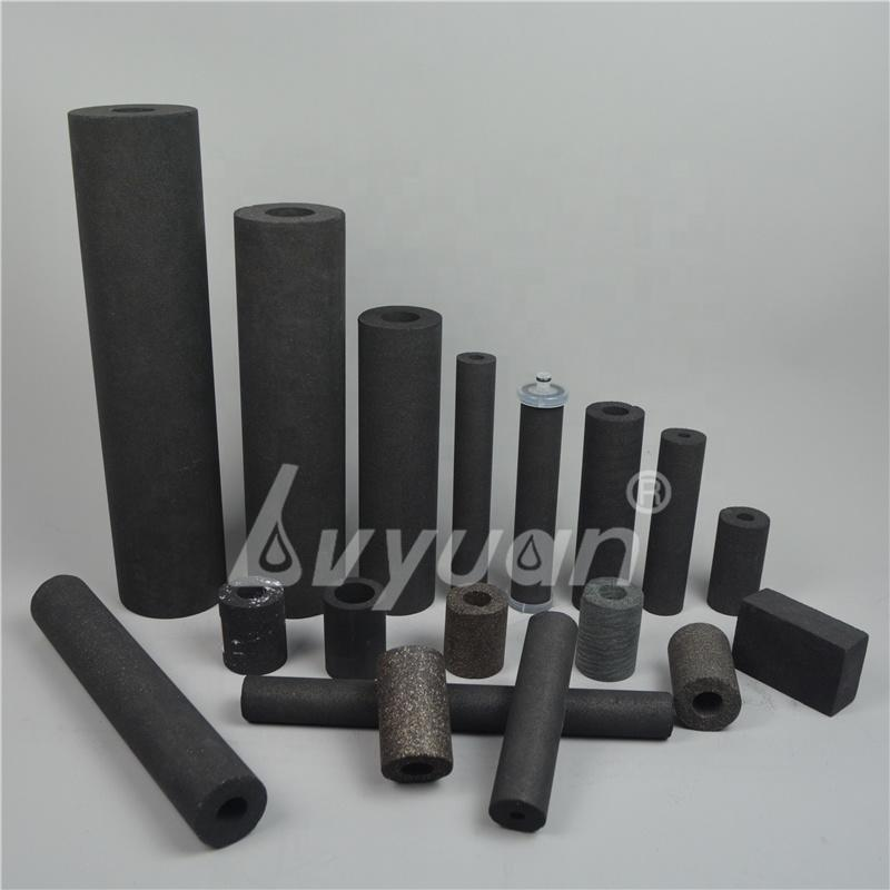 Customized Dimension Activated Carbon Block Filter Cartridge for Water Air Purification