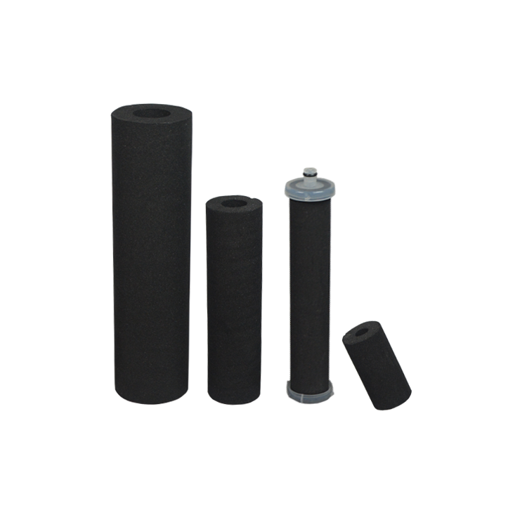 Removal dustactivated carbon water filter cartridge for drinking water