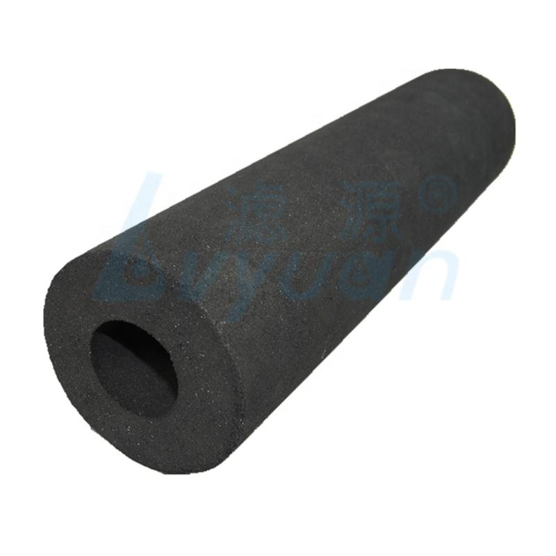 carbon filter 10 20 30 40 inch filter water sintered Carbon Filter Cartridge for Water Purifier