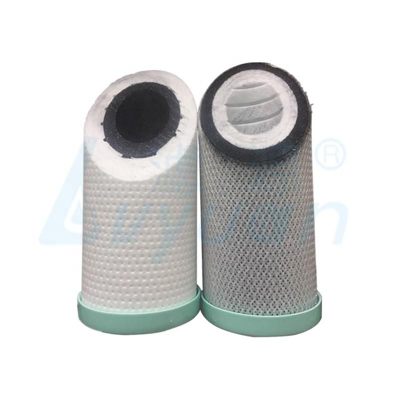 10 20 30 40 inch carbon block filter cartridge/water cartridge 5 micron for water filtration