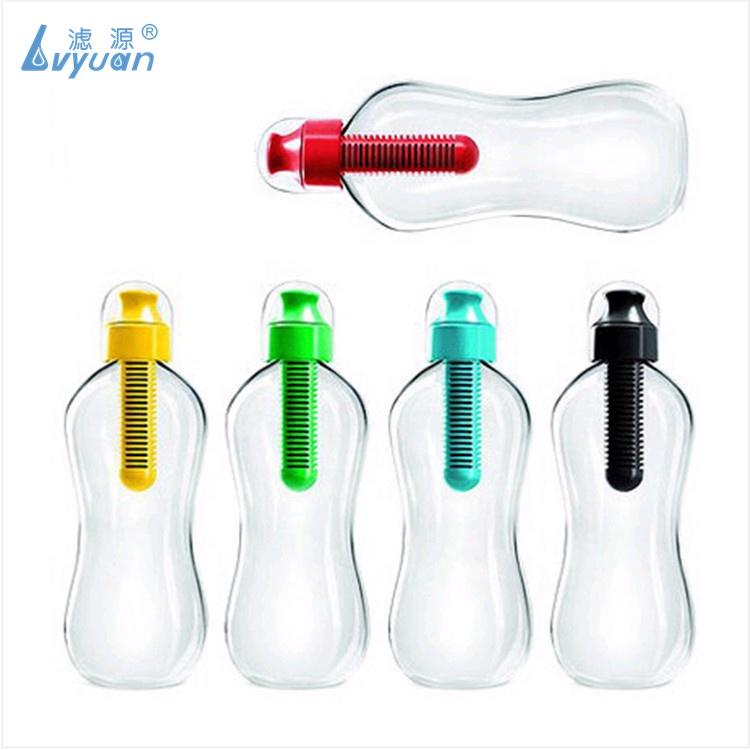 Factory supply Custom bottle Activated Carbon Water Filter Cartridge for plastic portable drinking water filter bottle