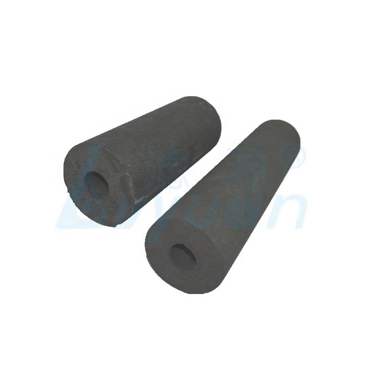 Replacement water filter cartridge activated carbon cto filter with customized specification and micron rate