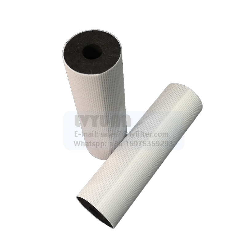 Cylinder shaped 5 20 25 micron water filter carbon cartridge for post carbon drinking filter