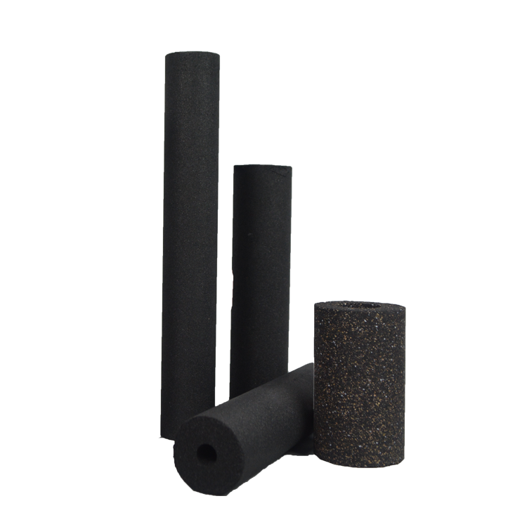 High quality coconut activated carbon mediasintering carbon filter cartridge