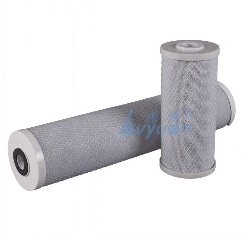 OEM size activited carbon water filter for Drinking Water Chlorine Removal