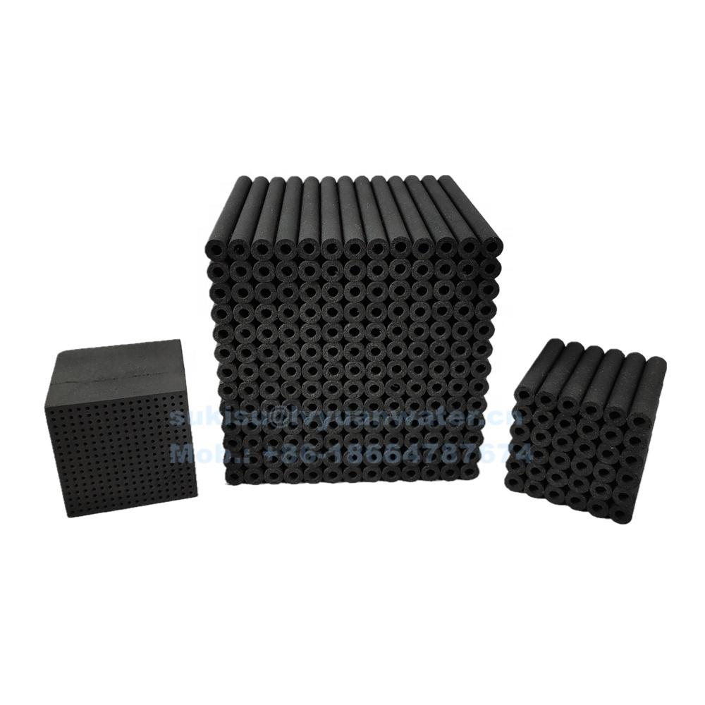 Whole-sale Customization dimension Molecular air filter Activated Carbon Fiber Honeycomb Panels/Cube/Disc with good price
