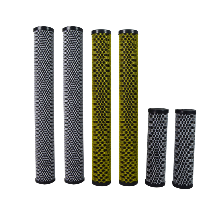 Factory price activated carbon block water filter for Industry Water Treatment
