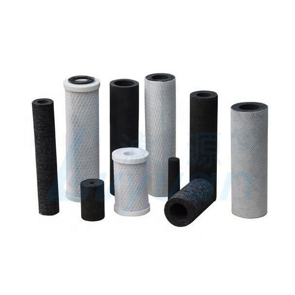 Activated carbon filter cartridge /sintered carbon filter for removing odor