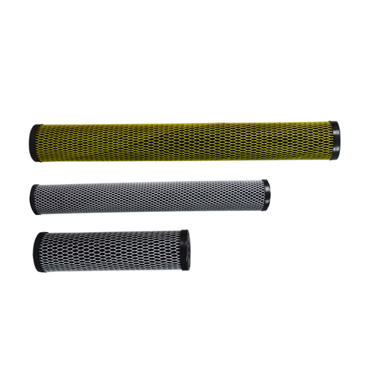 Chinese high quality 0.5 um carbon block filters for RO system