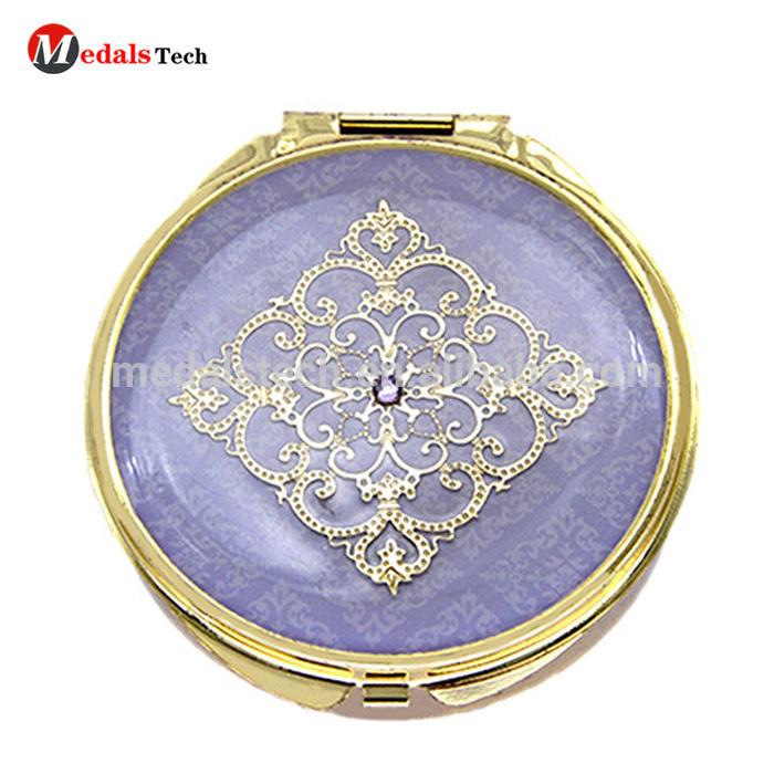 Fashion MINI Folding Pocket Cosmetic Mirror With Custom Logo