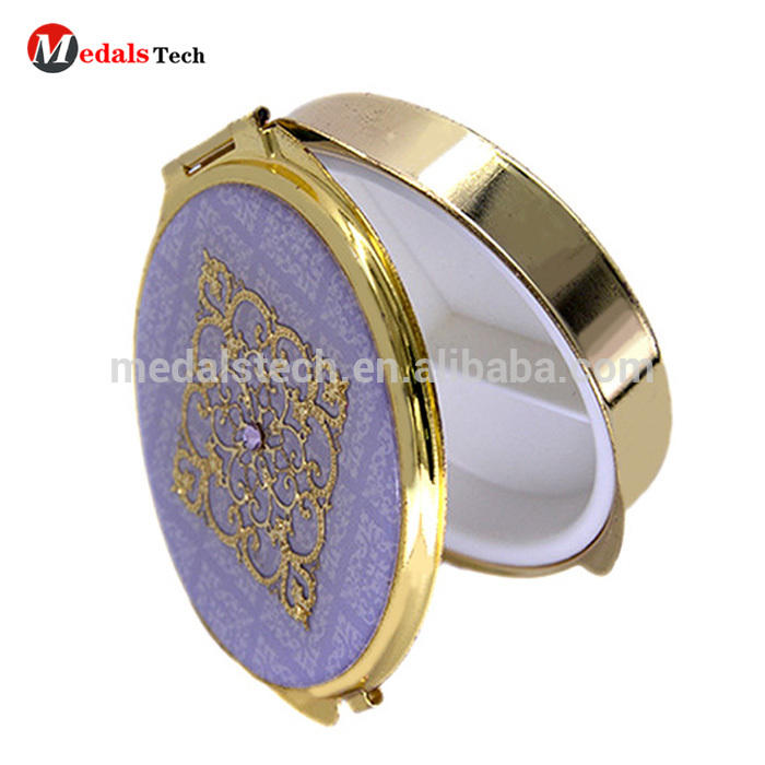 Fashion MINI Folding Pocket Cosmetic Mirror With Custom Logo